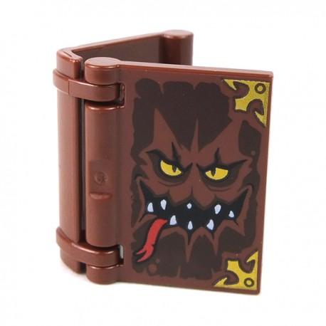 LEGO Accessoires Minifigure - Livre avec Monstre sur la couverture