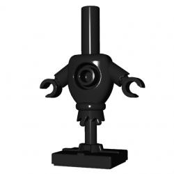 Lego Accessories Minifigure Custom BrickWarriors - Training Dummy (Black)