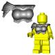 Lego Accessoires Minifigure Custom Gladiateur BrickWarriors - Armure Gladiatrix (Steel)
