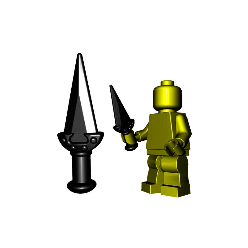 Weapon Trident Black Minifig LEGO