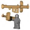 Lego Minifigure Accessoires WW2 BrickWarriors - Panzerschreck (Beige)