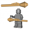 Lego Minifigure Accessoires WW2 BrickWarriors - Panzerfaust (Beige)