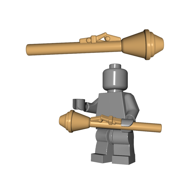 Lego Minifigure Gun TAN Custom Rifle