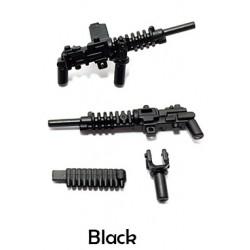 Lego Minifigure Accessoires WW2 BrickWarriors - HMG Japonais (Noir)