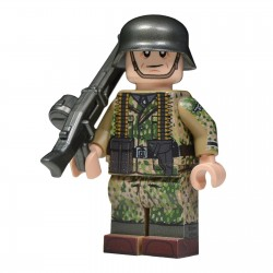 United Bricks - WW2 German in Spring Dot 44 (MG42)