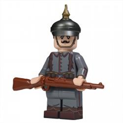 United Bricks - WW1 Soldat Allemand Minifigure