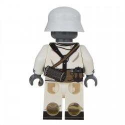 Lego United Bricks - WW2 Soldat Allemand Hiver MP40 Minifigure