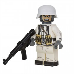Lego United Bricks - WW2 Soldat Allemand Hiver STG Minifigure
