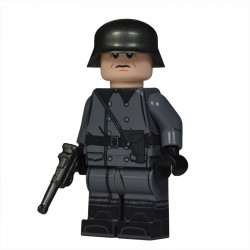 Lego United Bricks - WW2 Greatcoat German Officer Minifigure