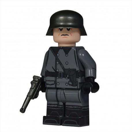 Lego United Bricks - WW2 Greatcoat German Officer Minifigure