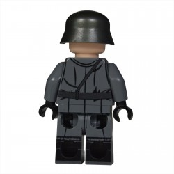 Lego United Bricks - WW2 Grand Officier Allemand Minifigure