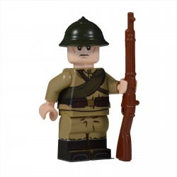 Lego United Bricks - WW1 Russian Soldier Minifigure
