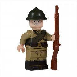 Lego United Bricks - WW1 Soldat Russe Minifigure