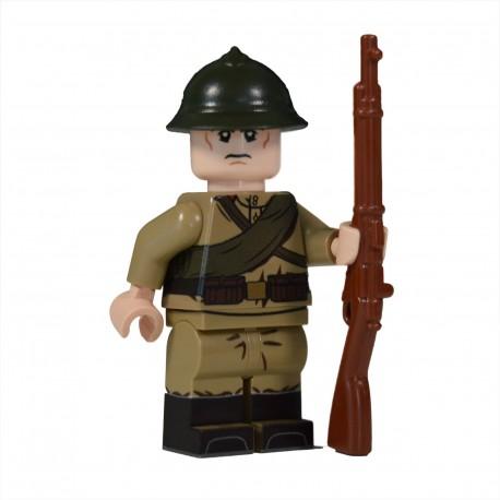 Lego United Bricks - WW1 Russian Soldier Minifigure
