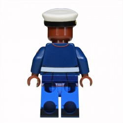 Lego United Bricks - U.S. Marine Habit Bleu (Marron) Minifigure