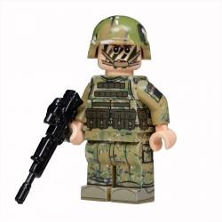 Lego United Bricks - Royal Marine Commando Minifigure