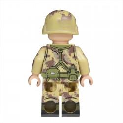 Lego United Bricks - Soldat Américain Guerre du Golfe Minifigure