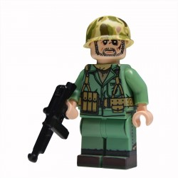 Lego United Bricks - WW2 Marine NCO Minifigure