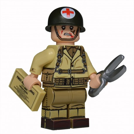 Lego United Bricks - WW2 U.S. Medic Minifigure