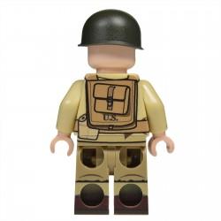 Lego United Bricks - WW2 U.S. Army NCO Minifigure