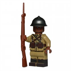 Lego United Bricks - WW1 Harlem Hellfighter Minifigure