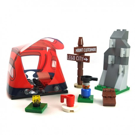 LEGO® - Camping, Tente, réchaud Minifig