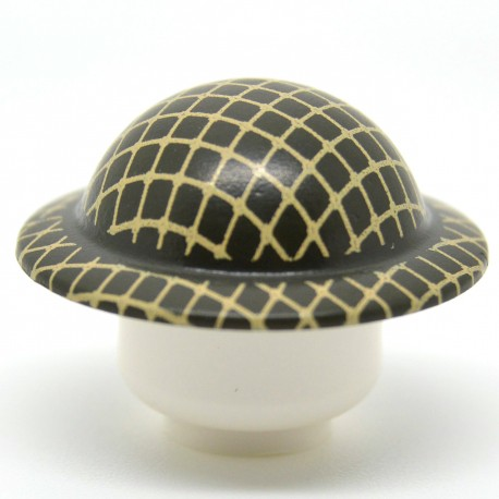 United Bricks - WW2 Brodie Helmet With Netting (Green)
