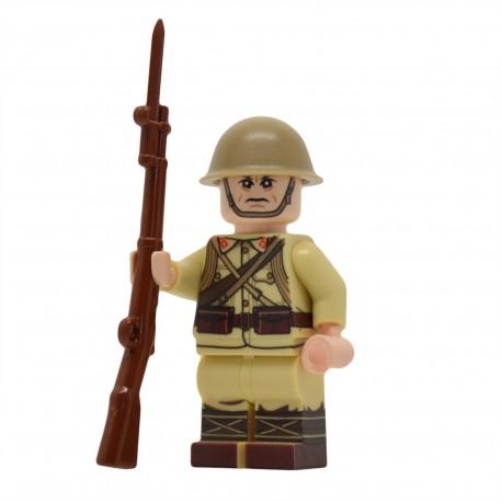 United Bricks - WW2 Soldat Japonais Minifigure