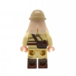 United Bricks - WW2 Japanese Army MG Soldier Minifigure