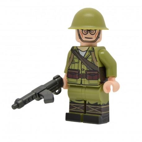 United Bricks - WW2 Japanese Army SNLF Soldier Minifigure