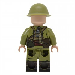 United Bricks - WW2 Soldat Japonais SNLF Minifigure