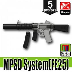 Lego Minifigure Si-Dan Toys - MPSD System FE25 (Noir)
