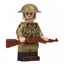 United Bricks - WW1 American Soldier Minifigure