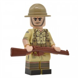 United Bricks - WW2 Néo-Zélandais Minifigure Lego