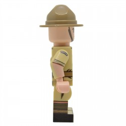 United Bricks - WW2 New Zealander (Desert) Minifigure