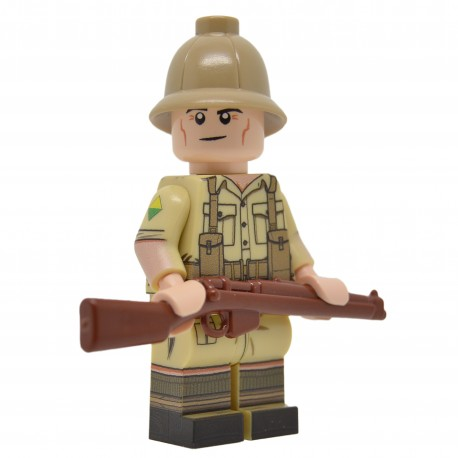 United Bricks - WW2 South African (Desert) Minifigure
