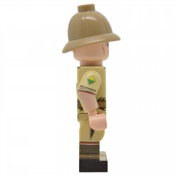 United Bricks - WW2 South African (Desert) Minifigure