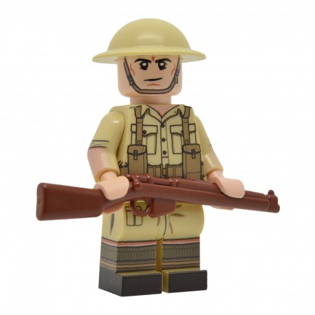 United Bricks - WW2 Britannique (Desert) Minifigure lego