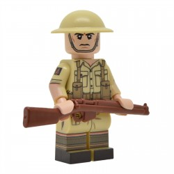 United Bricks - WW2 British Desert Rat Minifigure lego