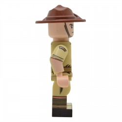 United Bricks - WW2 Australian (Desert) Minifigure lego