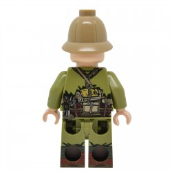 United Bricks - WW2 DAK Rifleman (Version 1) Minifigure lego