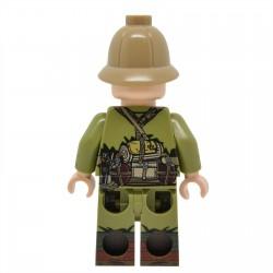 United Bricks - WW2 DAK Rifleman (Version 1) Minifigure lego