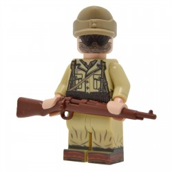United Bricks - WW2 DAK Rifleman (Version 2) Minifigure lego