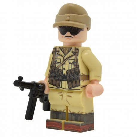 United Bricks - WW2 DAK NCO Minifigure lego