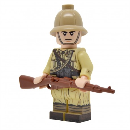 United Bricks - WW2 Italian Rifleman (Desert) Minifigure lego army