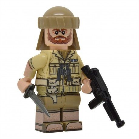 United Bricks - WW2 British SAS Minifigure legor army
