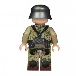 United Bricks - WW2 German in Spring Dot 44 (Kar98k) lego army