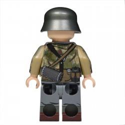 United Bricks - WW2 Panzergrenadier Allemand Swamp Camo Minifigure lego armée