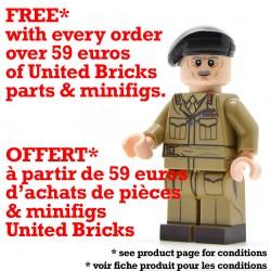 United Bricks - Bernard Montgomery Officier Minifigure