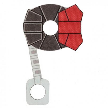 Lego Minifigure Star Wars Clone Army Customs - Commander ARC Cloth (Red)
